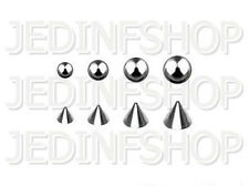 Spares / Replacements - Balls or Spikes - 1.2mm or 1.6mm - 3mm, 4mm, 5mm or 6mm
