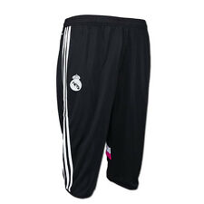 adidas Real Madrid 2014 Men's 3/4 Training Pants Black M37215