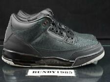 315768 001 Nike Air Jordan 3 III GS Black Flip GS SZ 6.5 cement dunk space sb