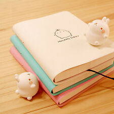 Molang Diary Planner Original Korean Version Cute Rabbit Sticker Scheduler