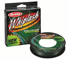 Berkley Whiplash Braid 300 yards Green 20-100lb NEW Carp, Sea Fishing Line