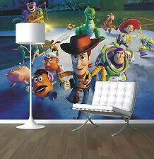 Toy Story wallpaper mural style 1 childrens bedroom feature wall design wm357