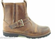JUNIORS / WOMENS 100% TIMBERLAND 60996 BROWN LEATHER CHELSEA BOOTS UK 3.5 - 6.5
