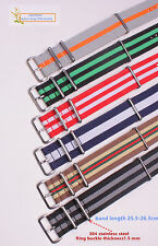 24MM Nylon Watch band straps waterproof watch strap 35color available