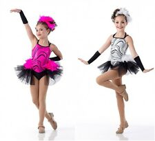 Ice Sequin Jazz Tap Ballet Dance Costume SHOW OFF Child & Adult Sizes