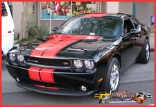 Challenger Automotive T- Rally Outline Graphic Decals Stripe factory 2008/2014