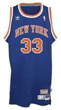 Patrick Ewing New York Knicks Adidas NBA Throwback Swingman Jersey - Blue