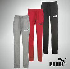 Womens Puma Sweat Pants Tracksuit Bottoms Ankle Cuff Size 8 10 12 14 16 18