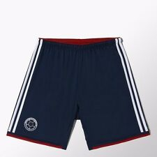 SELECCION COLOMBIA NAVY BLUE FCF SHORTS ADIDAS  RECEIPT PROVIDED ITEM # (G87254)