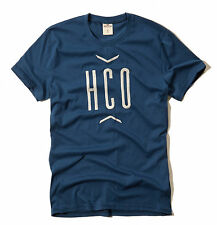 Hollister by Abercrombie Men Venice Beach Seagull Blue Crew-Neck Tee - $0 Ship