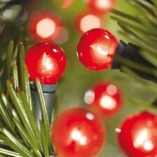 MAINS POWERED FESTIVE RED BERRY LIGHT CHRISTMAS FAIRY LIGHT INDOOR USE