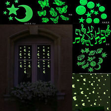 popular star Glow In The Dark Luminous Fluorescent Plastic Wall Stickers fashion