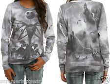 THE NIGHTMARE BEFORE CHRISTMAS STORMY NIGHT JACK PULLOVER FOR JUNIORS FREE SHIP