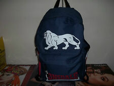 LONSDALE NAVY BACK PACK  BAG WITH  MATCHING  DESK SET 4 ITEMS BRAND NEW