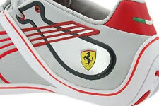 Mens Puma Ferrari Fast Cat Remix 2 Sneakers New, Gray Red 304036-06 30403606