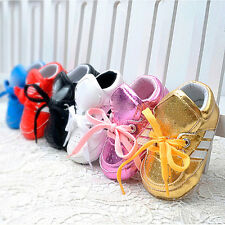 Soft Sole Sneaker Infant Toddler Baby Boy Girl Crib Shoes Newborn to 18 Months