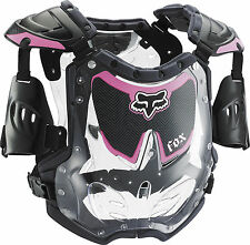 2015 Fox Racing Youth Girls MX ATV Offroad Motocross R3 Roost Deflector Pink
