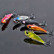 """Fishing Tackle Bait Lure 1.6"""" Hard Triple Hook Crankbaits Mini All Water Course"""