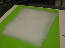 "NATURAL HDPE PLASTIC SHEET .125 ""  1/8 "" YOU PICK SIZE"