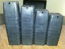 "2"" Black square seed starter - starting plastic nursery pots"