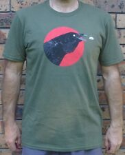 New Mens Queens Of The Stone Age Like Clockwork Black Crow T Shirt  RRP $48