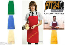 Workwear Bib Polycotton Apron,Catering Restaurant Cafe by Premier pr101