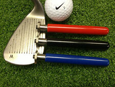 THE ULTIMATE GOLF GROOVE SHARPENER