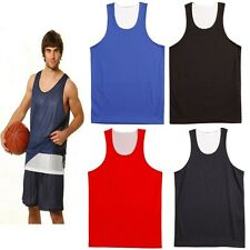 NEW MENS BASKETBALL GYM AIRPASS ADULT SINGLET SINGLETS TRAINING RUNNING CHEAP