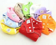 Infant TPU Waterproof Reusable Adjustable Baby Diapers Nappy Washable Urine Pant