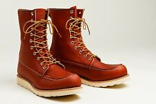 Red Wing Heritage 877 8-Inch Oro Legacy Mens Leather Boots - New in Box