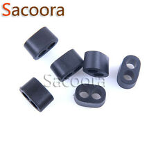 4.5mm 2 Holes Rope connecter Slider Clip Cord End Lock Stopper For Sportswear