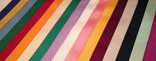 10mm / 20mm Grosgrain Ribbon - 5 metres / 45 metre reel - 19 colours available!!