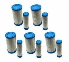 (5) New AIR / PRE FILTERS CLEANERS SET Kubota Engine Motor Lawn Mower Tractor
