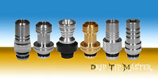 Drip Tip Muffler Stainless Steel, for 510 Atomizer, Clearomizer US Seller!