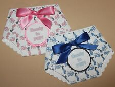25 DIY printed prengnant lady print ready to pop Baby shower diaper invitations