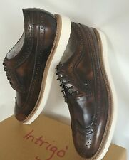 NEW LEATHER MENS DRESS FORMAT SHOES OXFORD LACE UP FASHION SHOES org.price $130.