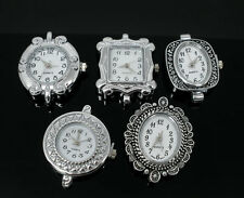 Wholesale Lots Jewelry Mixed Quartz Watches Faces 29x24mm-33x26mm Findings