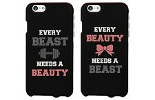 The New Iphone 6 Cover - Every Beauty Needs a Beast Matching Couple Phone Cases