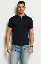 Armani Exchange A|X Men's Pima Cotton Polo Shirt/Top - Navy
