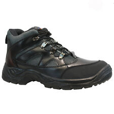 NEW MENS WORK SAFETY STEEL TOE CAP WORK HIKER ANKLE BOOTS SHOES TRAINERS SIZE