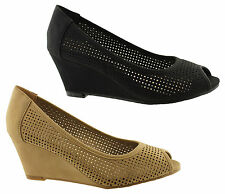 KALINYA DALLAS WOMENS/LADIES SHOES/PUMPS/WEDGES/HEELS/PEEP TOE/FASHION ON SALE!