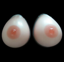 Silicone Breast Forms Fake Boobs Cross dresser Bra Enhancer Mastectomy Tear Drop