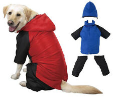 SNOWSUIT All Sizes! Removable Pants & Hood, Dog Jacket Winter Coat Snow Suit Ski