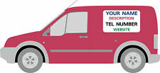 Full Colour Magnetic signs/decals/taxi van graphics