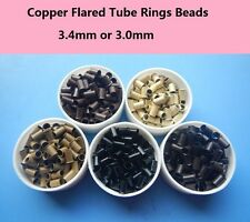 1000pcs copper tube beads micro link rings Euro Locks for stick hair extensions