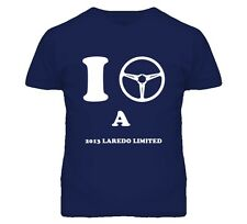 I Drive A 2013 Laredo Limited Steering Wheel Jeep T Shirt