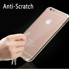 "Ultra Thin Clear Crystal Rubber TPU Soft Case Cover For 4.7"" iPhone 6 /Plus 5.5"""