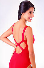 NEW! WOMENS DANCE BALLET LEOTARD W/ LOW BACK AND X BACK. 4 COLORS! (RDE1522)