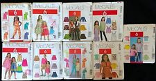 McCalls Children's Clothes Pattern 6 great looks style and size options