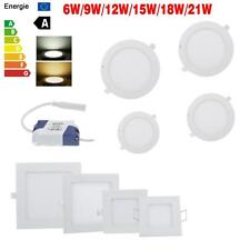 Dimmable LED Recessed Ceiling Lights 21W 18W 15W 12W 9W 6W Panel Downlight Lamps